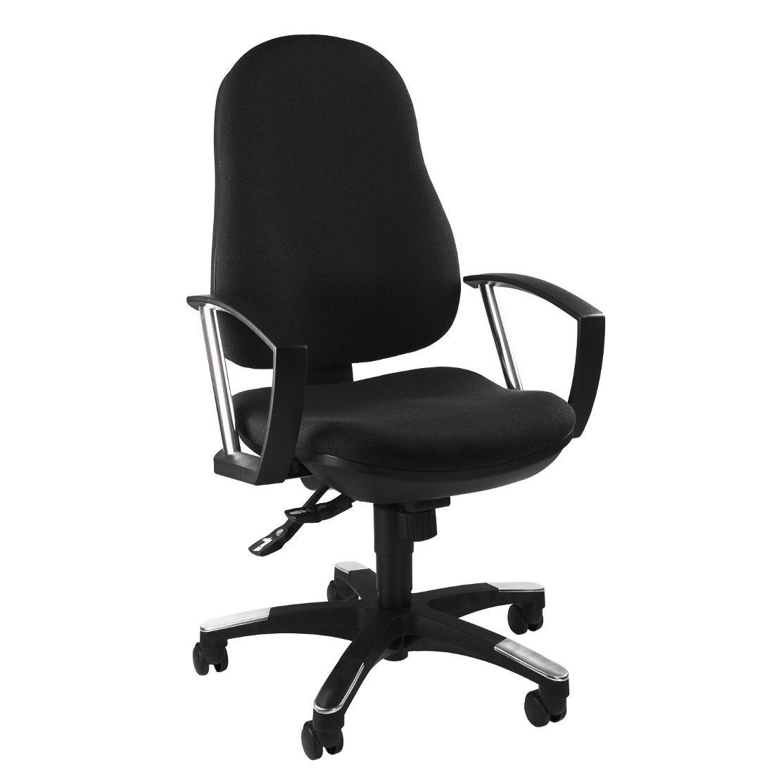 home24 Trend 10 Drehstuhl   Büro > Bürostühle und Sessel  > Bürostühle   Schwarz   Topstar