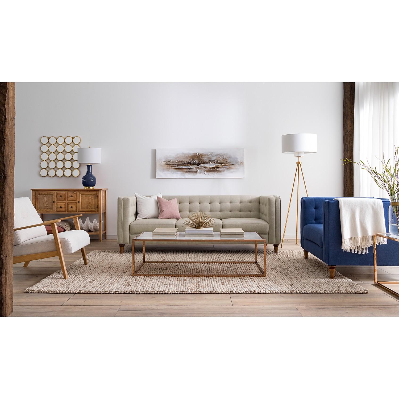 Sofa Buckingham (3-Sitzer) Webstoff