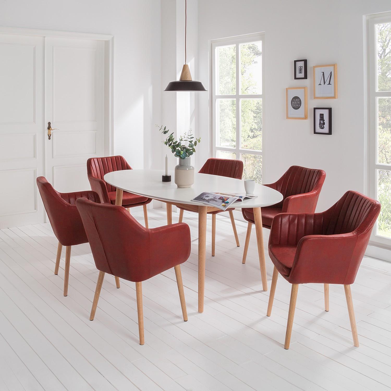 home24 Armlehnenstuhl Leedy IV   Küche und Esszimmer > Stühle und Hocker > Armlehnstühle   Moerteens