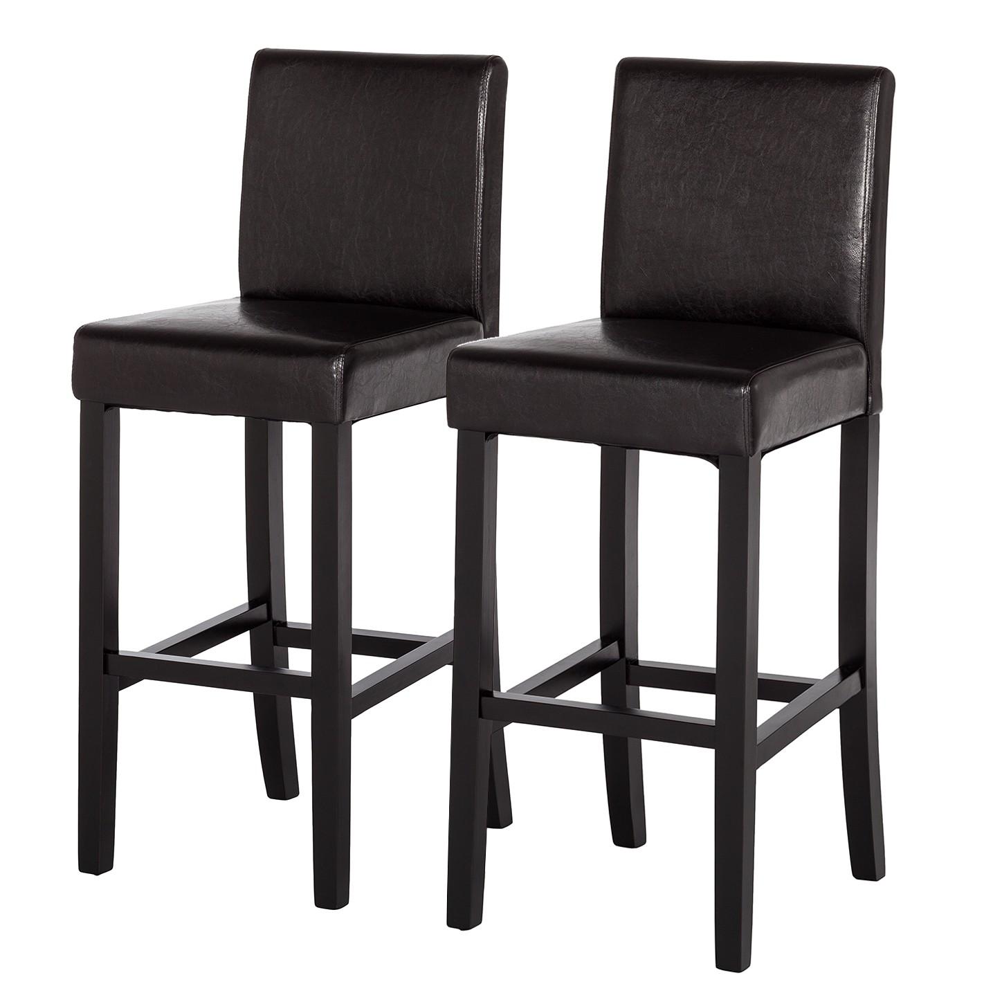 home24 barstuhl nello 2er set. Black Bedroom Furniture Sets. Home Design Ideas
