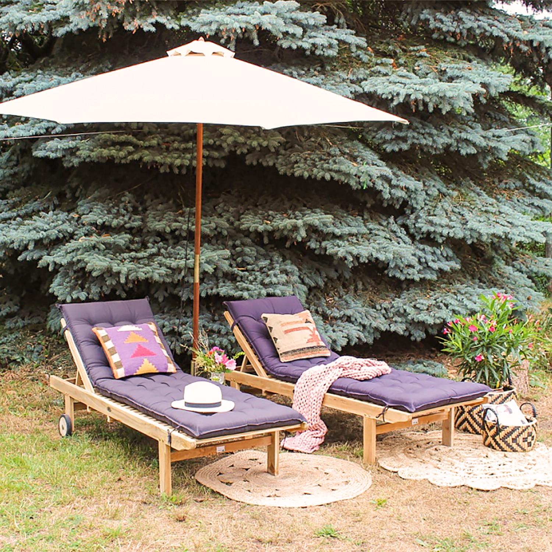 Sonnenschirm Sombrilla V | Garten > Sonnenschirme und Markisen | Beige | Massivholz - Textil | Jardi