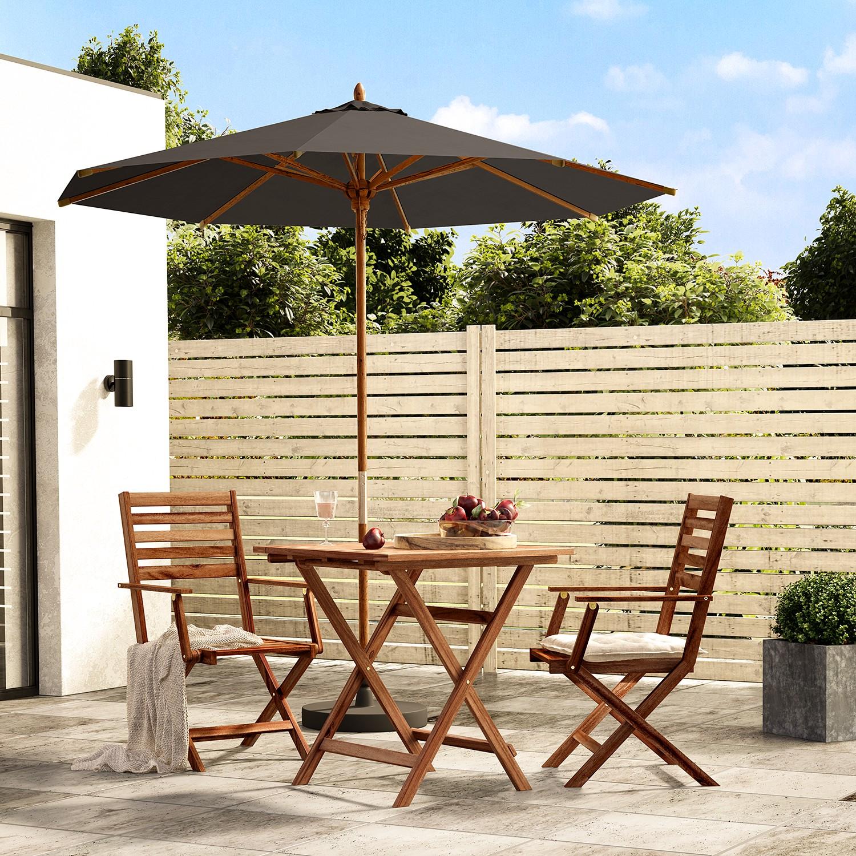 Sonnenschirm Sombrilla IV | Garten > Sonnenschirme und Markisen | Grau | Massivholz - Textil | Jardi