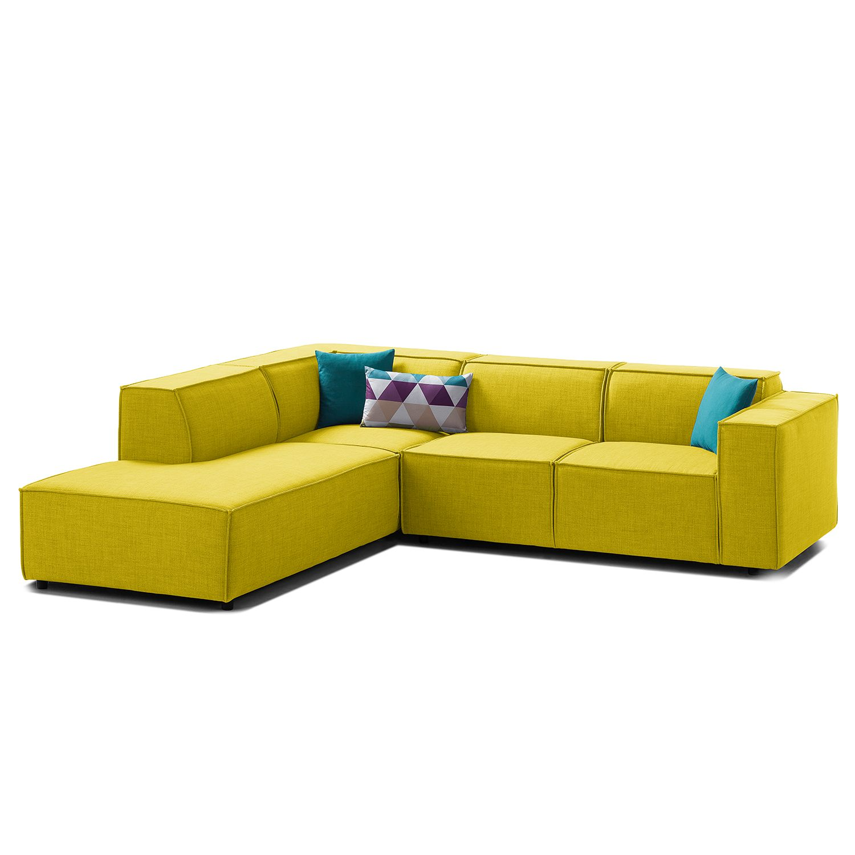 Canapé d'angle Kinx III Tissu