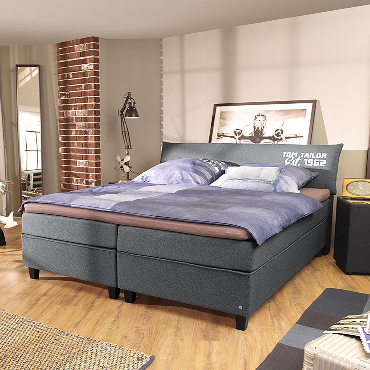 home24 Boxspringbett Color Box