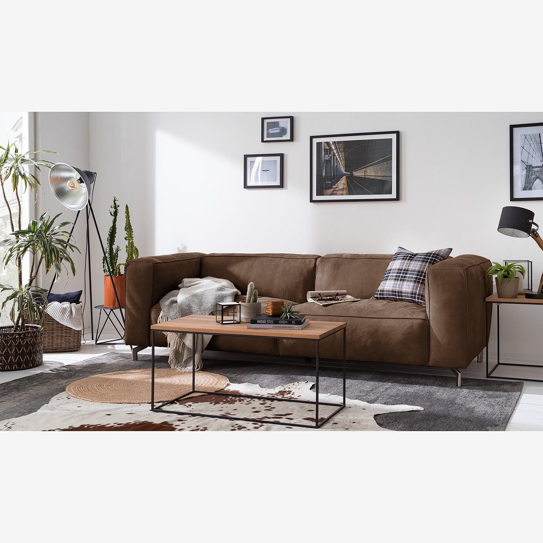 Canapé Pentre (3 places) Cuir véritable