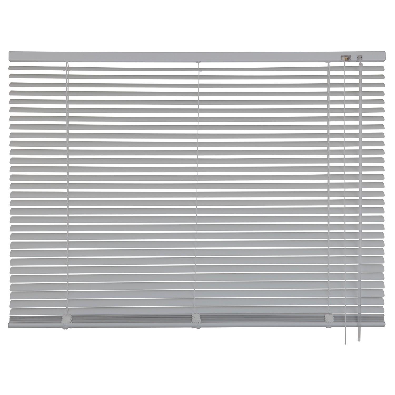 home24 mydeco Jalousie 110x130 cm (BxH) Edelstahl-Optik Aluminium Modern | Heimtextilien > Jalousien und Rollos > Jalousien
