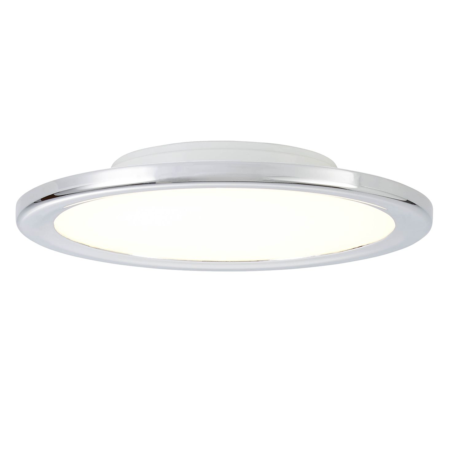 home24 LED-Deckenleuchte Neptune Flat III