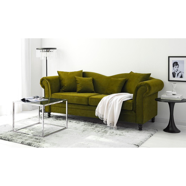 home24 Sofa York (3-Sitzer) Samt