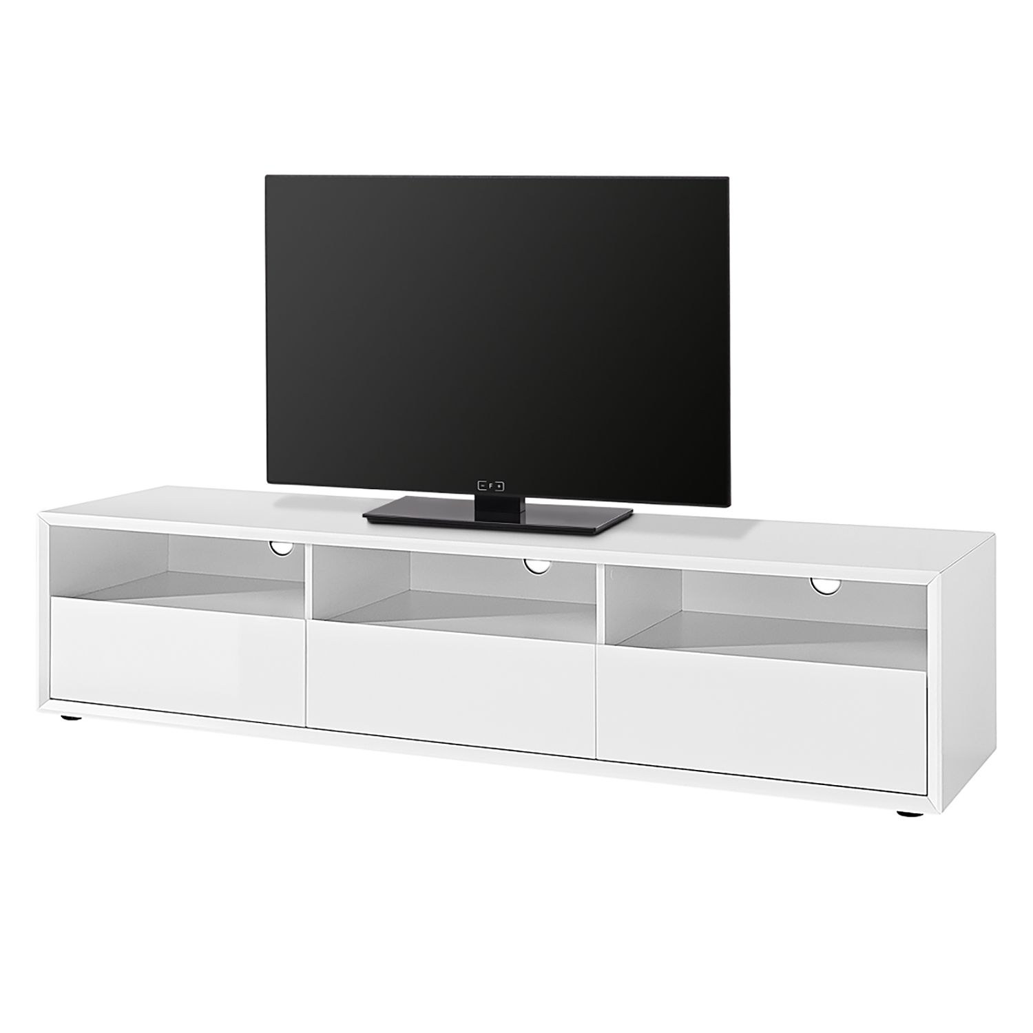 home24 TV-Lowboard Clear-Cut