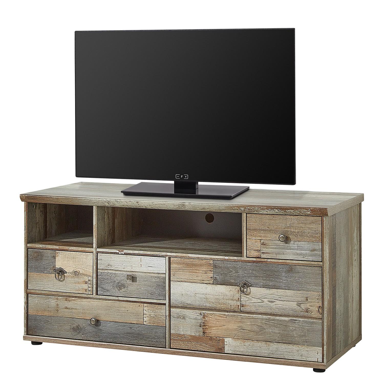 home24 TV-Lowboard Tapara III | Wohnzimmer > TV-HiFi-Möbel > TV-Lowboards | Braun | Holzwerkstoff | Red Living