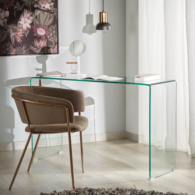 Fredriks Konsolentisch Drap Glas Rechteckig Modern 125x78x40 cm (BxHxT)