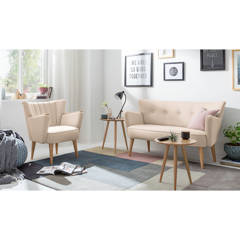 home24 Sofa Bumberry III Webstoff (2-Sitzer)