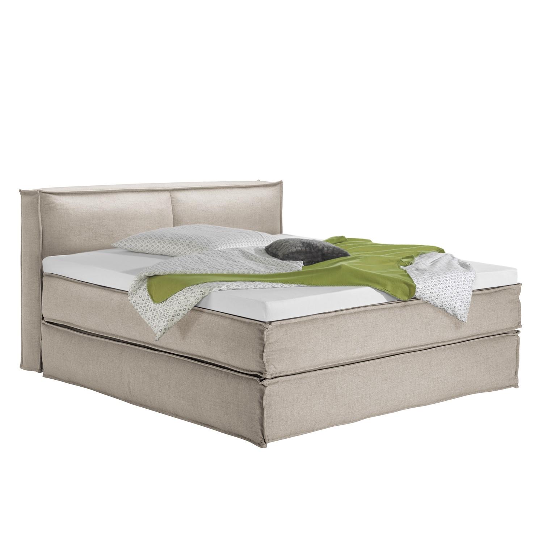 home24 Boxspringbett Kinx | Schlafzimmer > Betten | Beige | Textil | KINX