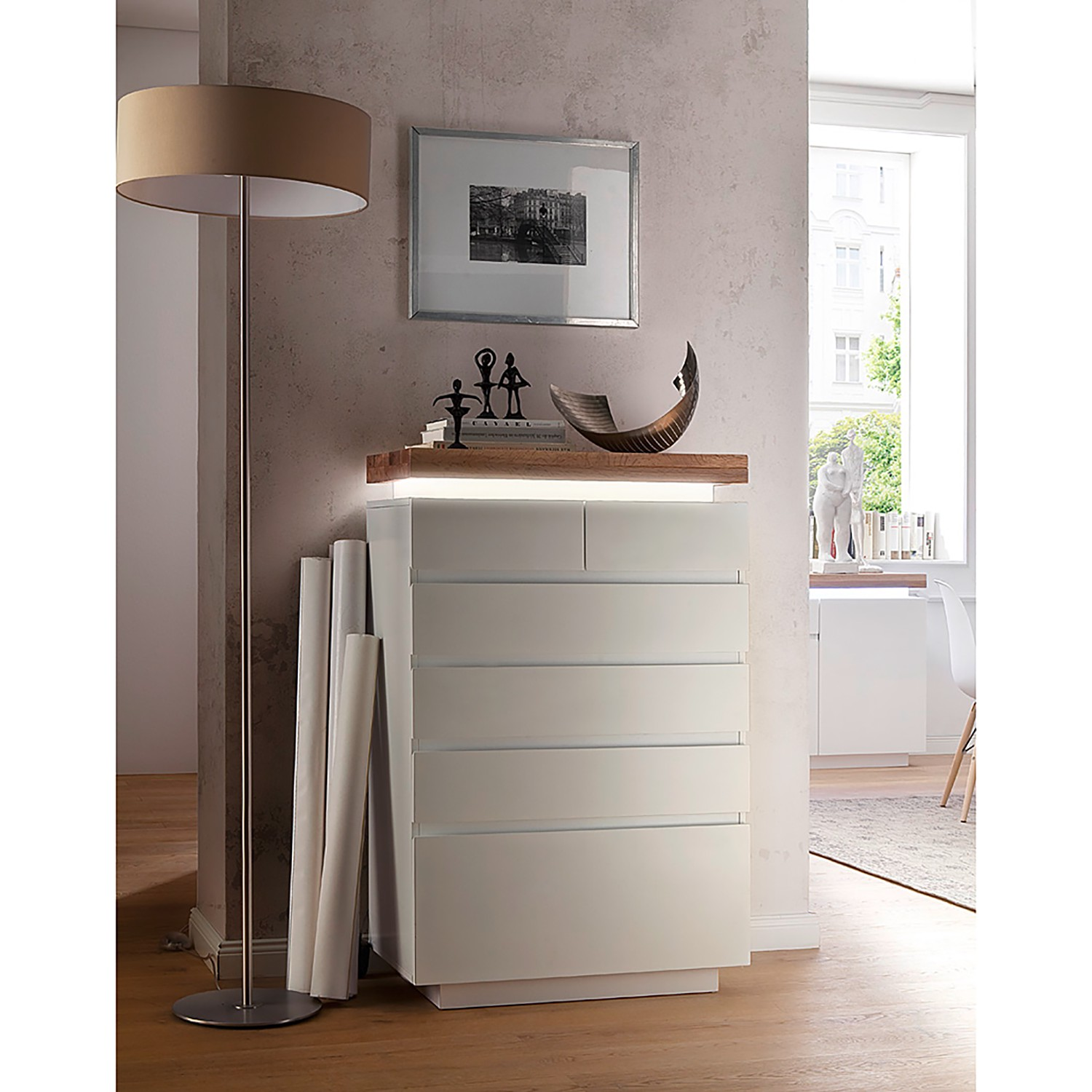 Commode Roble II (éclairage inclus)