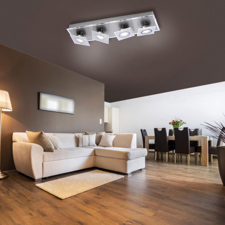 home24 LED-Deckenleuchte Rotator