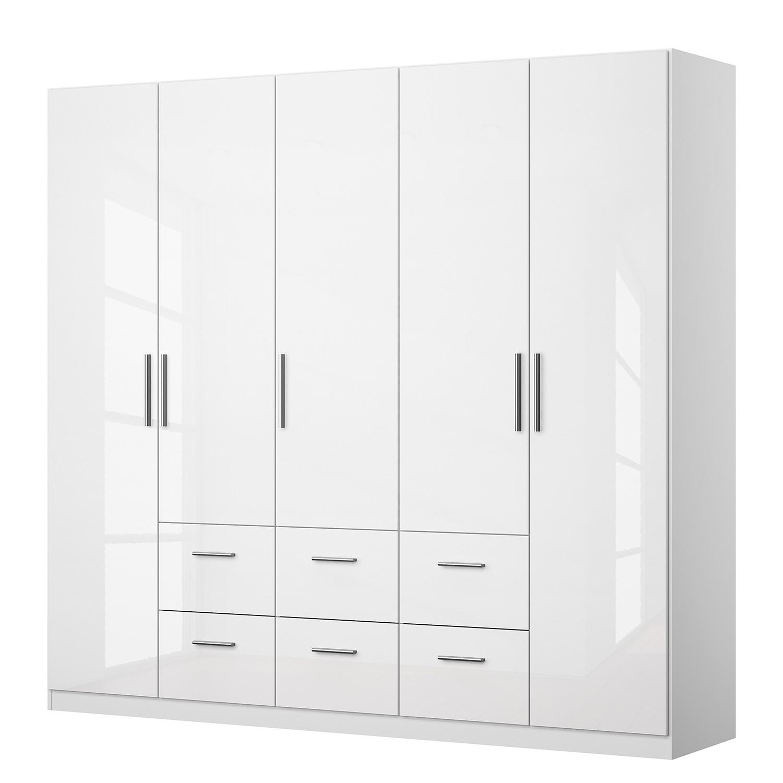 home24 Drehtuerenschrank KiYDOO II | Schlafzimmer > Kleiderschränke | Weiss | KIYDOO