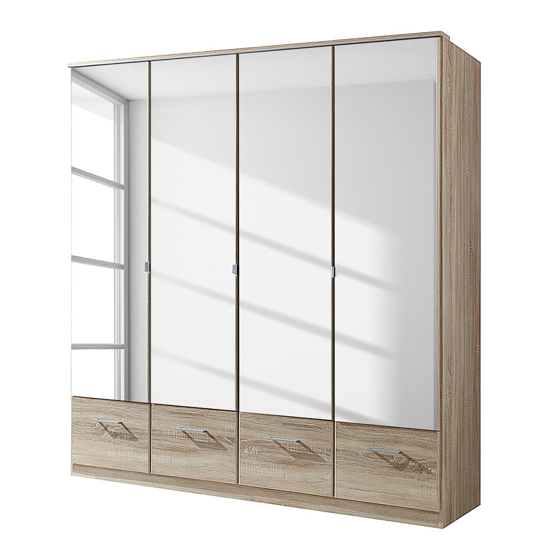 Schlafzimmermöbel - Drehtuerenschrank Rajmi (mit Schubladen) - Wimex - Beige