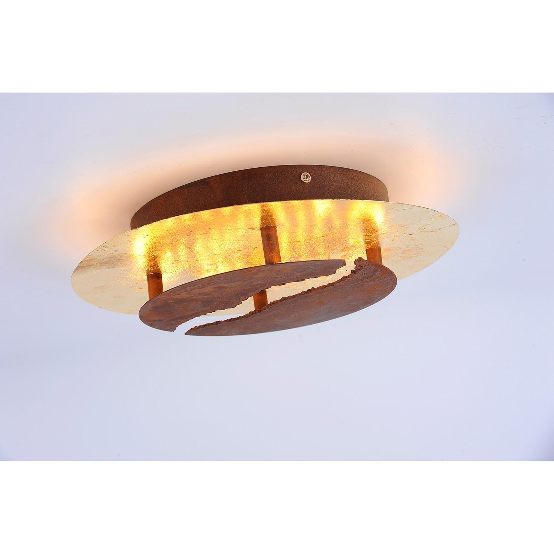 home24 LED-Deckenleuchte Nevis Lava I