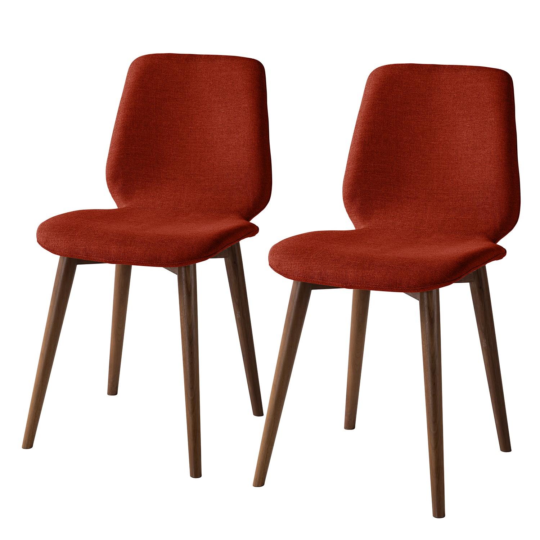 Gestoffeerde stoelen Wilga (set van 2), Studio Copenhagen