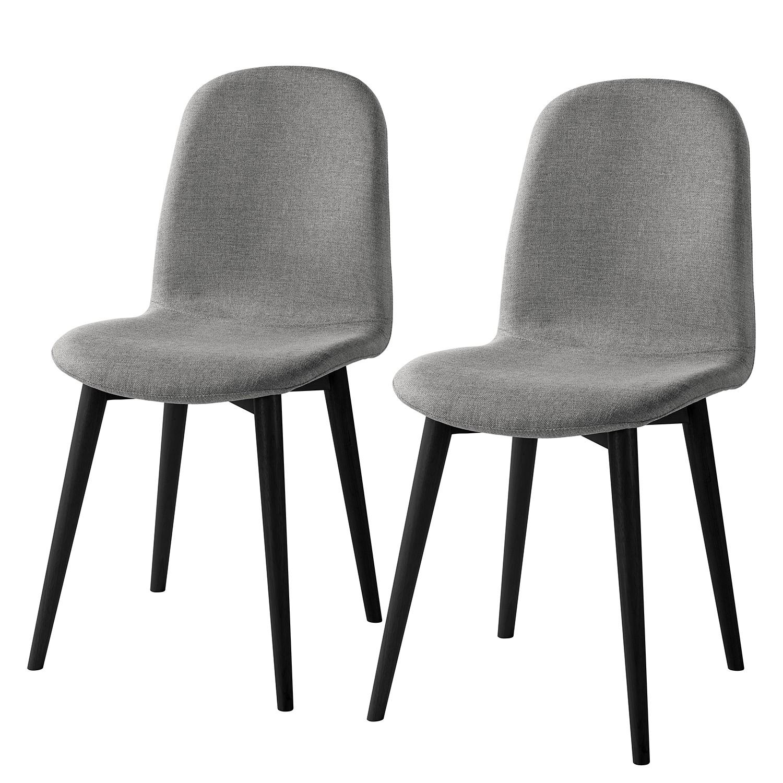 Home24 Gestoffeerde stoelen Warka (set van 2), home24