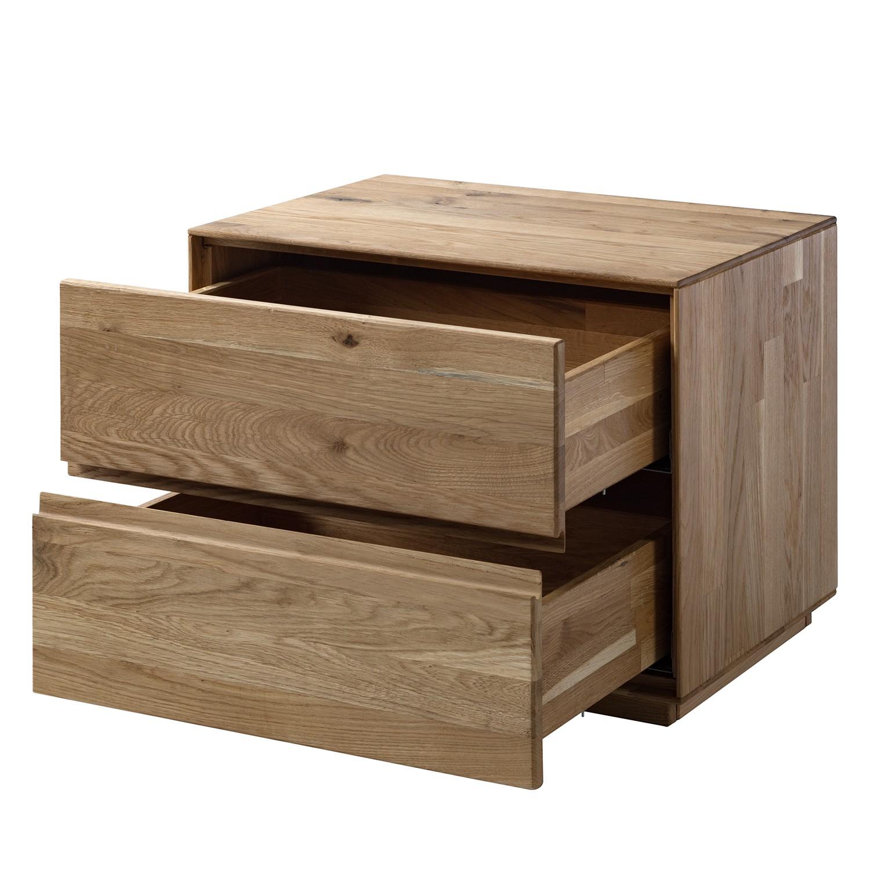 Nachtkommode VOLDA - Holzdekor