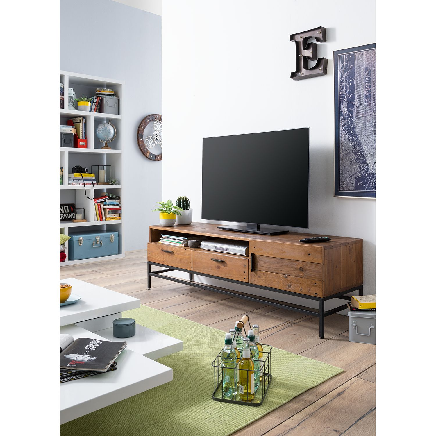 home24 TV-Lowboard Grasby I