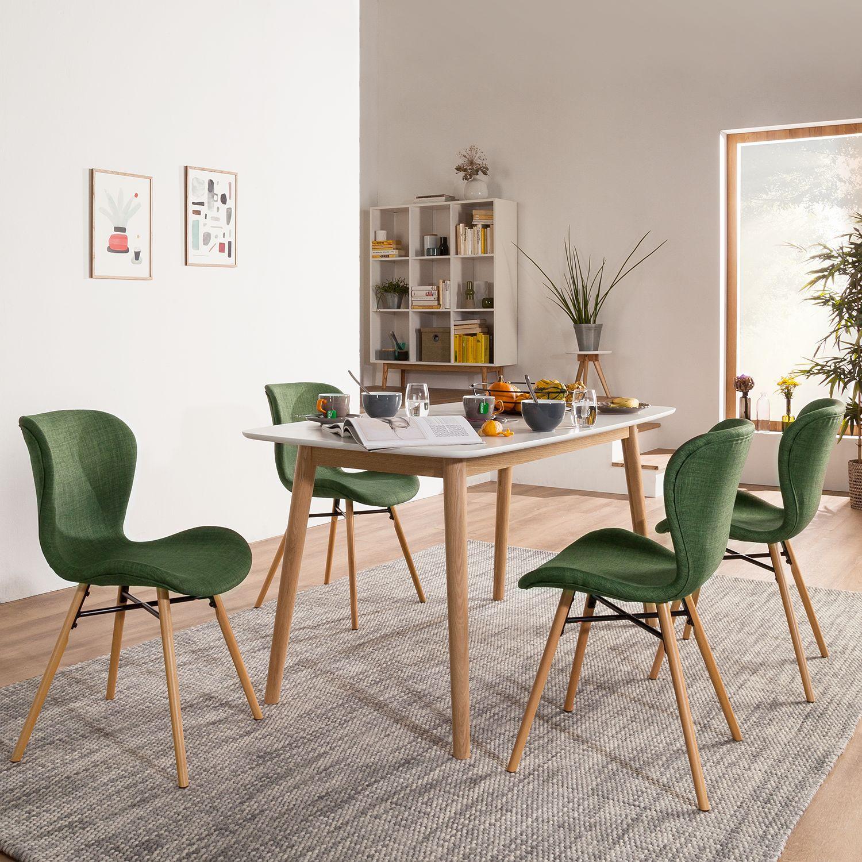 home24 Polsterstuhl Livaras (2er-Set) | Küche und Esszimmer > Stühle und Hocker > Polsterstühle | Moerteens