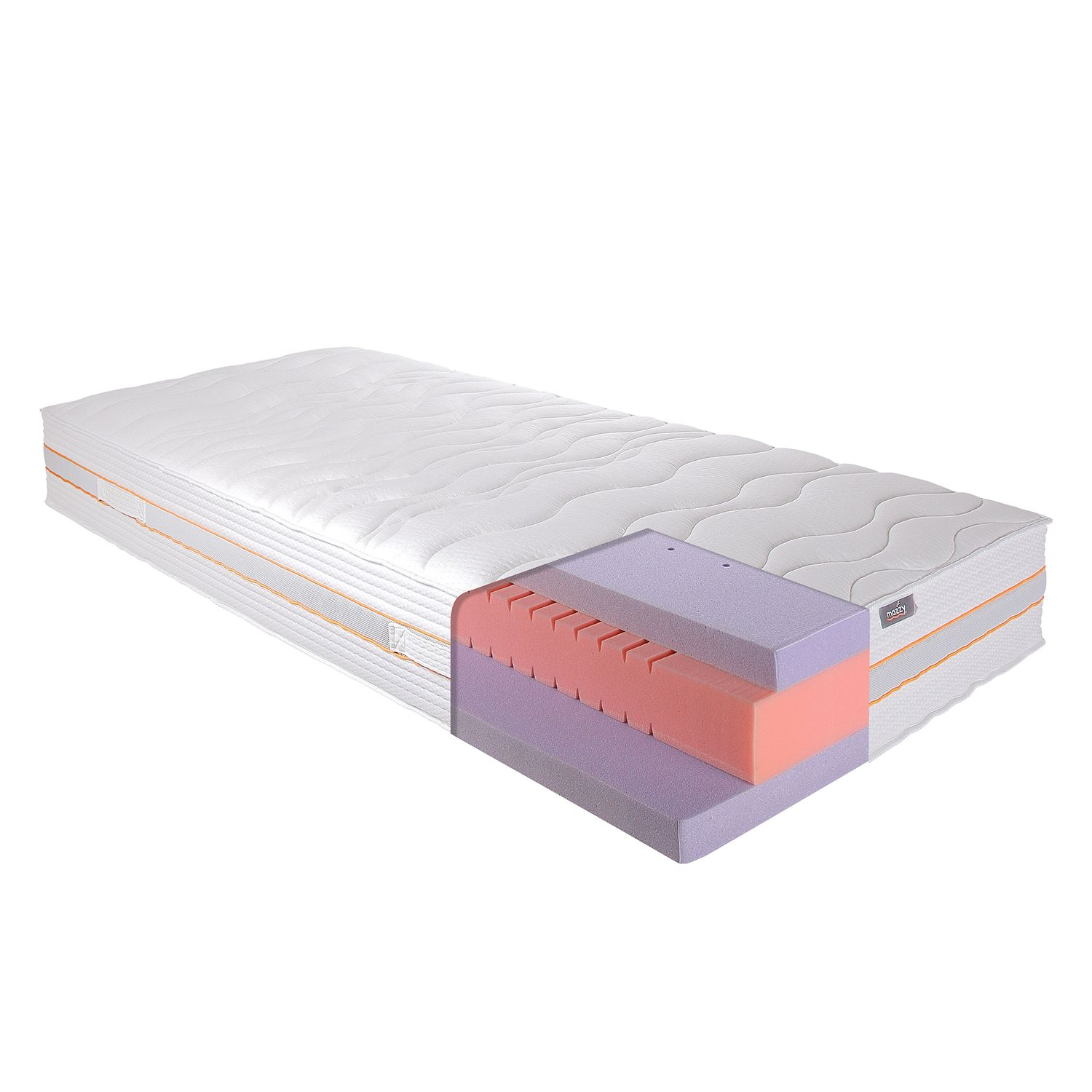matelas en mousse froide gel 7 zones de somove. Black Bedroom Furniture Sets. Home Design Ideas