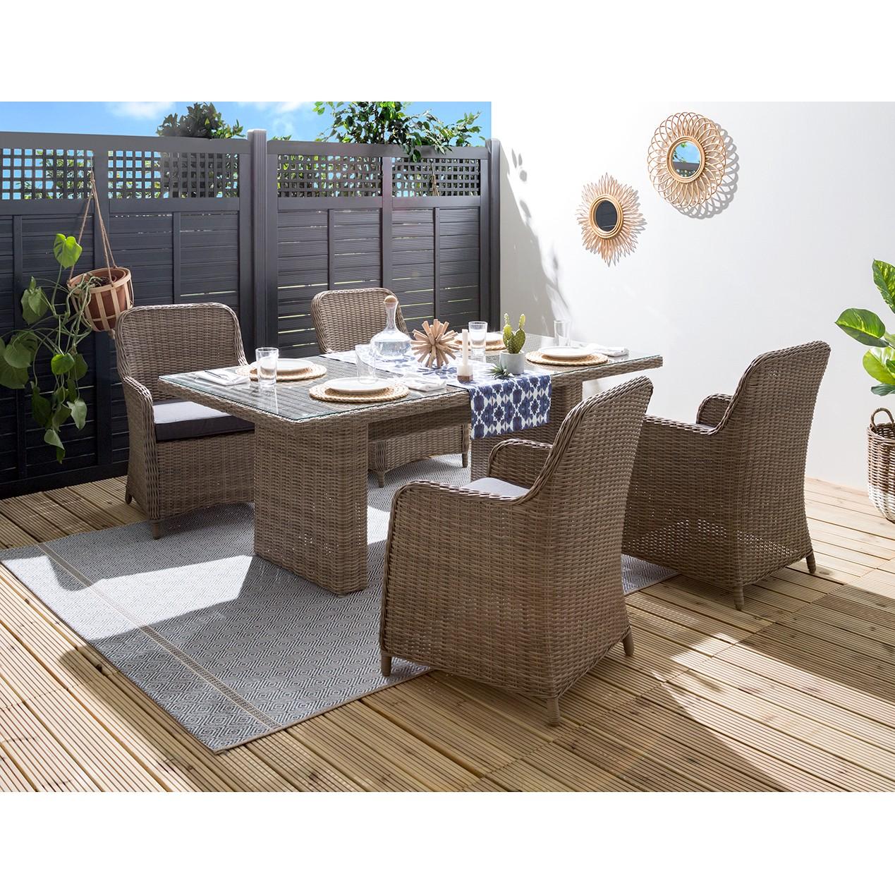 home24 Gartentisch Villebon I