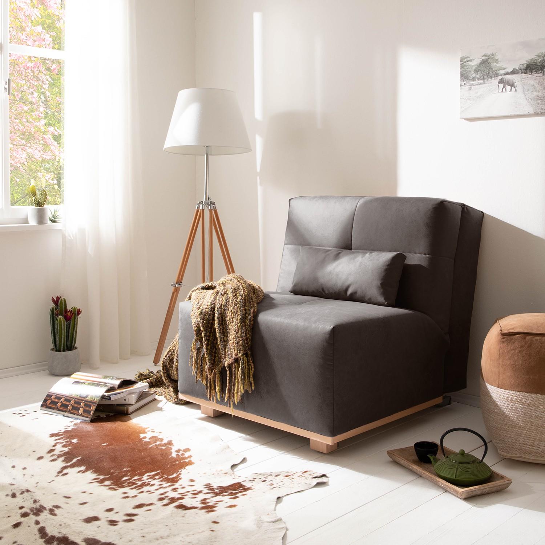 home24 Schlafsessel Simla I | Schlafzimmer > Schlafsofas | Braun | Ars Natura