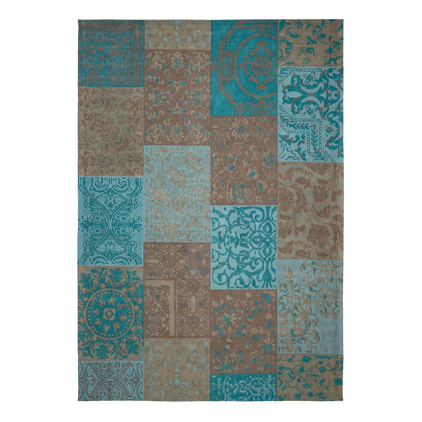 Top Square Vintage-Teppich Milas