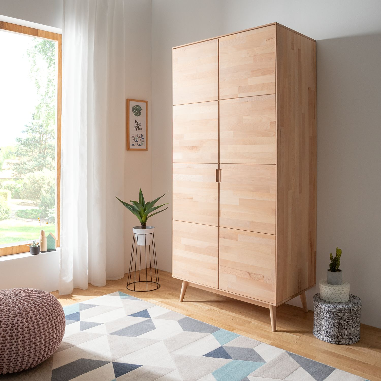 Schlafzimmermöbel - Drehtuerenschrank Finsby - Moerteens - Beige