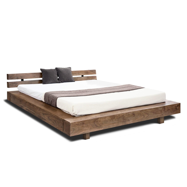 home24 Massivholzbett Guru | Schlafzimmer > Betten > Massivholzbetten | Braun | Massivholz | Wolf-Moebel