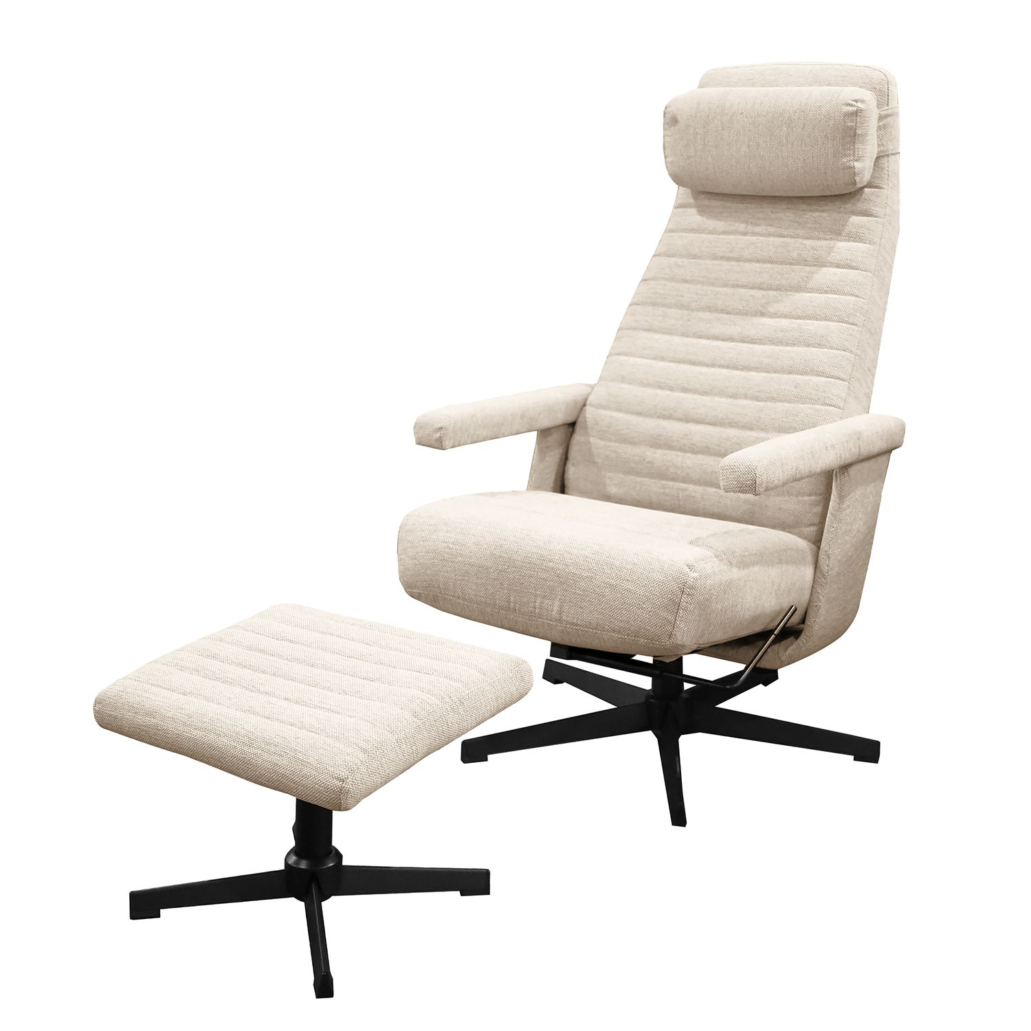 home24 Relaxsessel Cooga (mit Hocker)