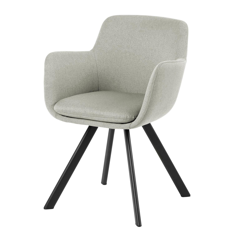 home24 Armlehnenstuhl Borris | Küche und Esszimmer > Stühle und Hocker > Armlehnstühle | Grau | ars manufacti