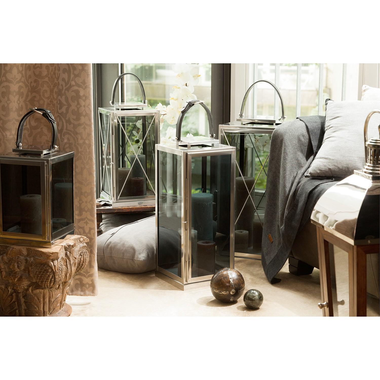 home24 Laterne Doha   Dekoration > Kerzen und Kerzenständer > Laternen   Silber   Metall   Wittkemper Living