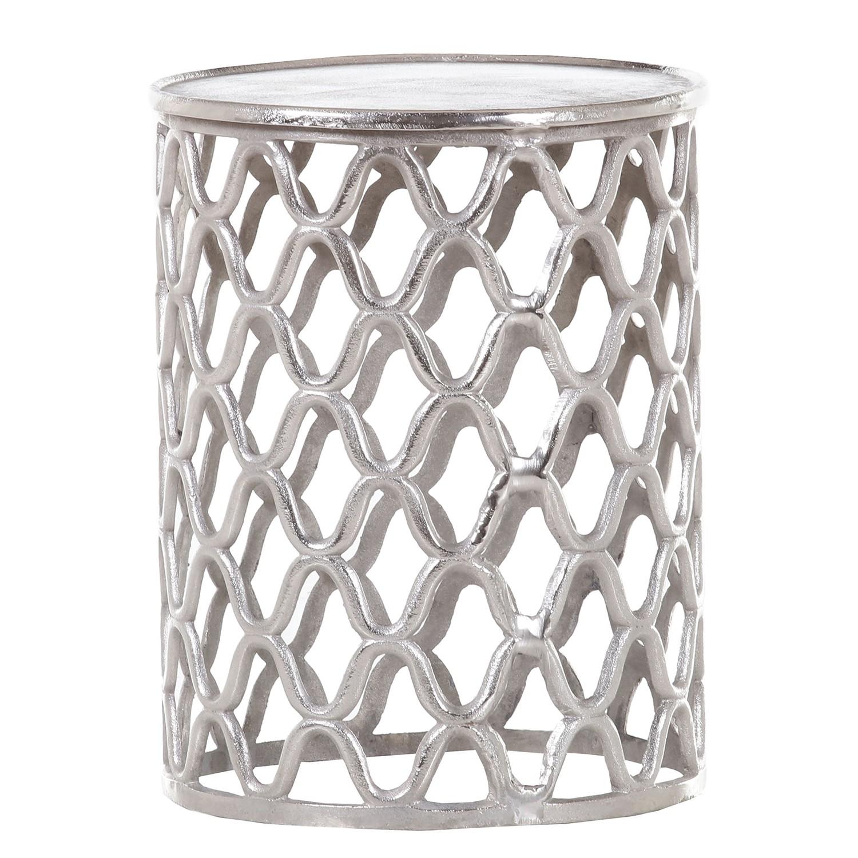"*NEU*: Beistelltisch ""Nagodi"" aus Aluminium, silberfarben (Kopie)"