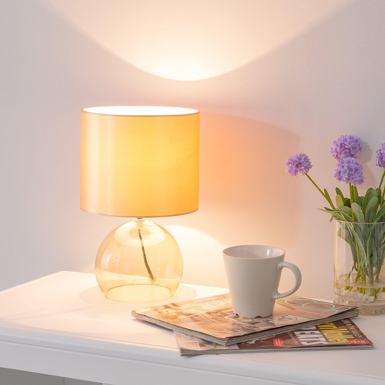 home24 Tischleuchte Gilze | Lampen > Tischleuchten > Beistelltischlampen | Gold | Loistaa
