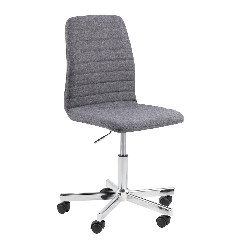 home24 Buerodrehstuhl Eiby | Büro > Bürostühle und Sessel  > Bürostühle | Grau | Fredriks