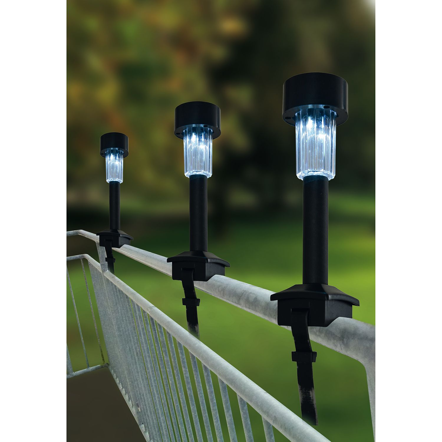 home24 LED-Solarleuchte Terni (4er Set)