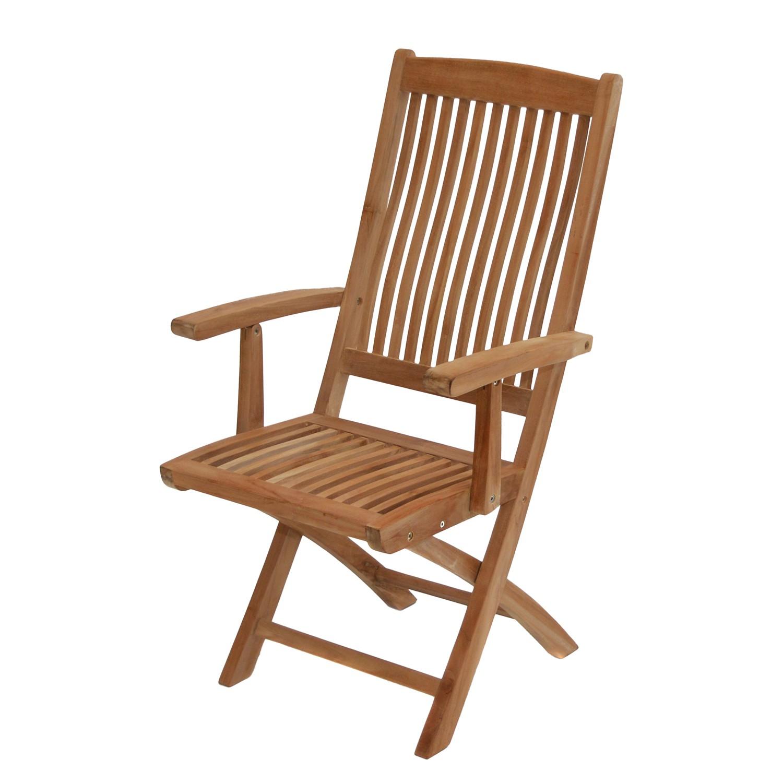 home24 Klappstuhl Arlington | Küche und Esszimmer > Stühle und Hocker > Klappstühle | Braun | Massivholz | Ploss