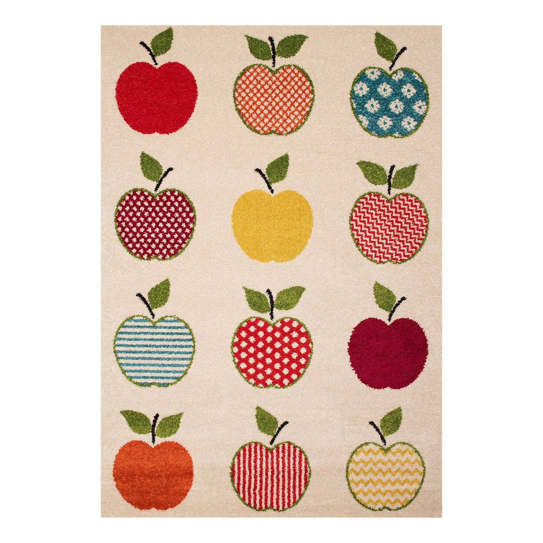 home24 Kinderteppich Apple Mike | Kinderzimmer > Textilien für Kinder > Kinderteppiche | Zala Living