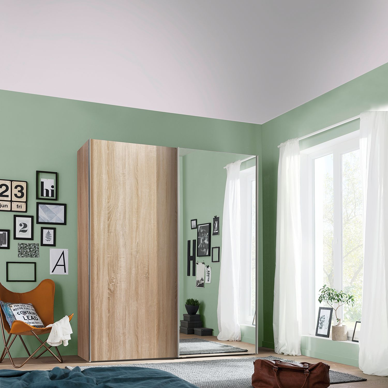 home24 Schwebetuerenschrank Budget | Schlafzimmer > Kleiderschränke > Schwebetürenschränke | Express Moebel