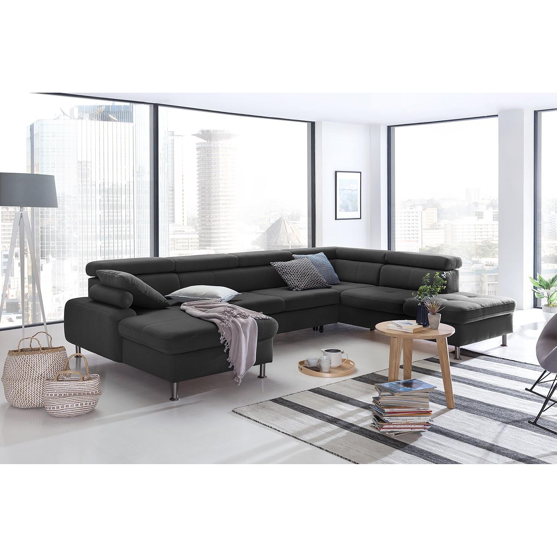Wohnlandschaft Rivas | Wohnzimmer > Sofas & Couches > Wohnlandschaften | Grau | loftscape