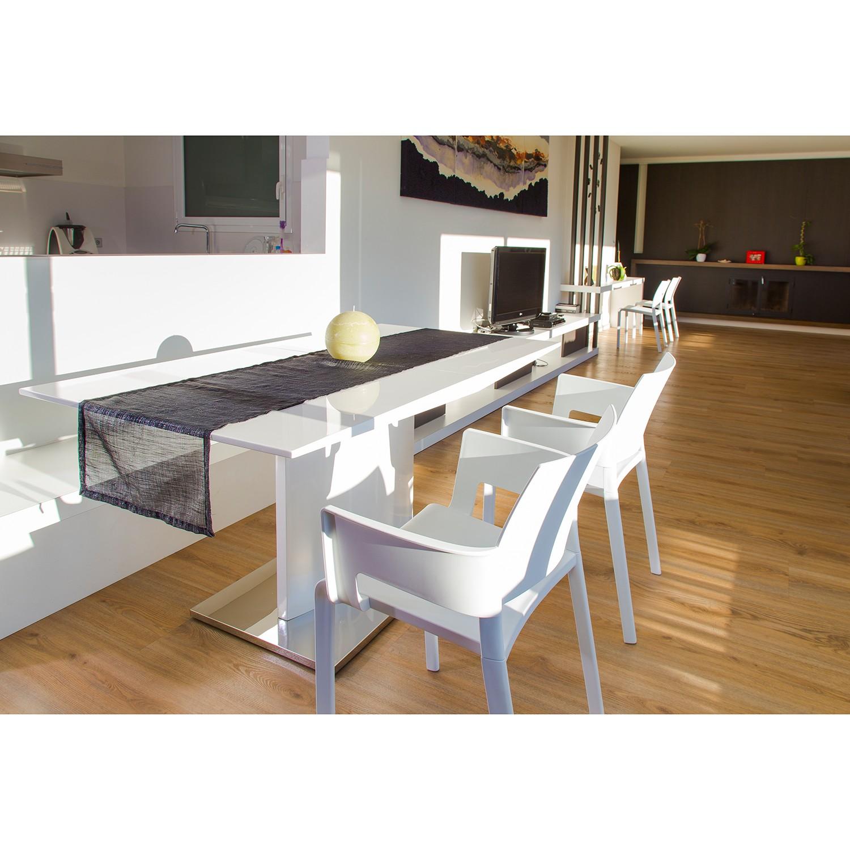 Home24 Armleunstoelen Sun (2-delige set), Blanke Design