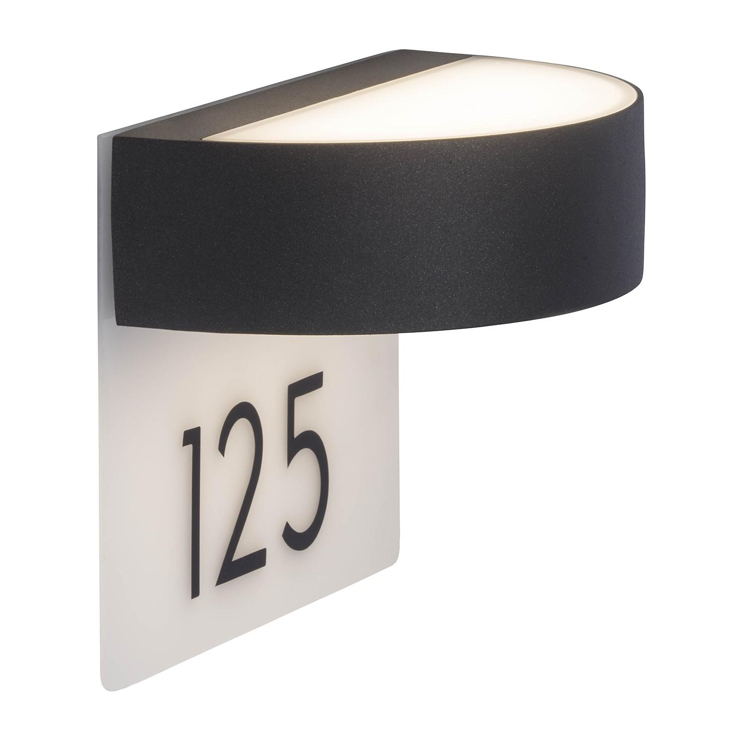 LED-Aussen-Wandleuchte Monido