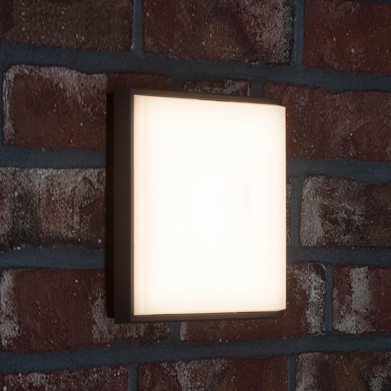 home24 LED-Aussen-Wandleuchte Letan