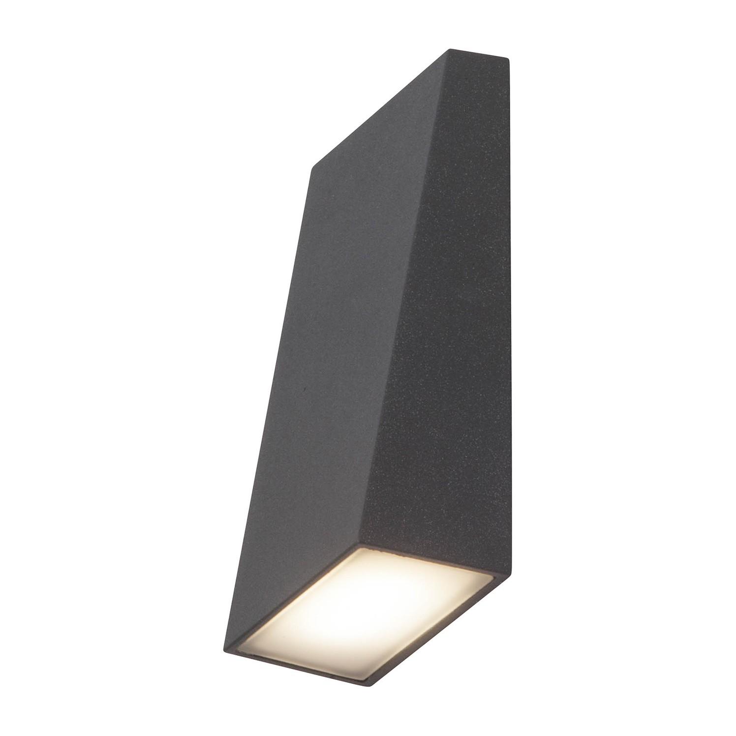home24 LED-Aussen-Wandleuchte Tivana