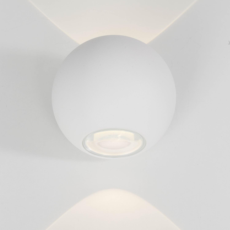 home24 LED-Aussen-Wandleuchte Gus
