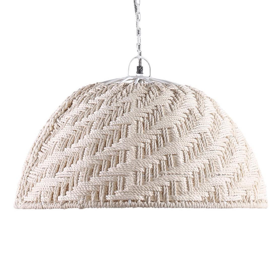 Pendelleuchte Gatsby | Lampen > Deckenleuchten > Pendelleuchten | Beige | Textil - Metall | Ars Natura